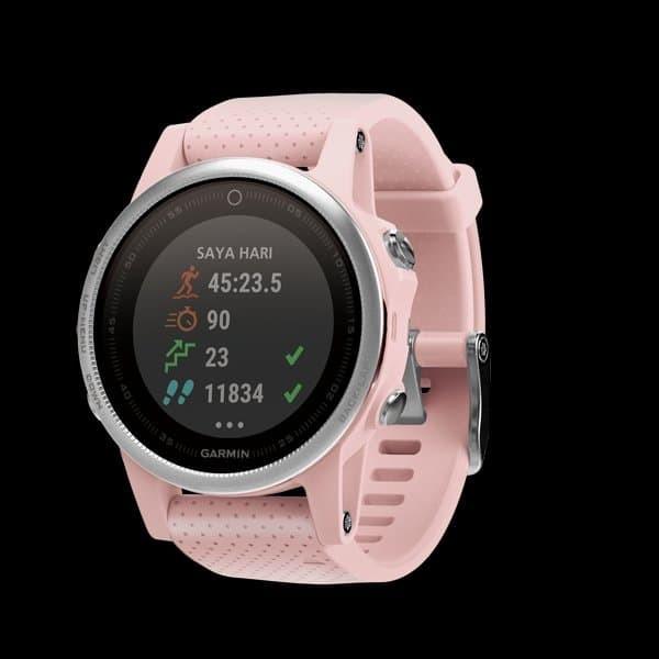 Jual FOR SALEE 25% JAM TANGAN WANITA Garmin Fenix 5S Pink Sapphire ... 00957b7940