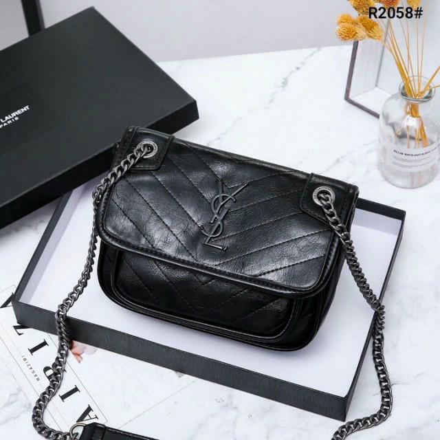 5f8a1e8d79 Jual Tas YSL Niki Medium Chain Sling Bag R2058 Semi Premium - Kota ...