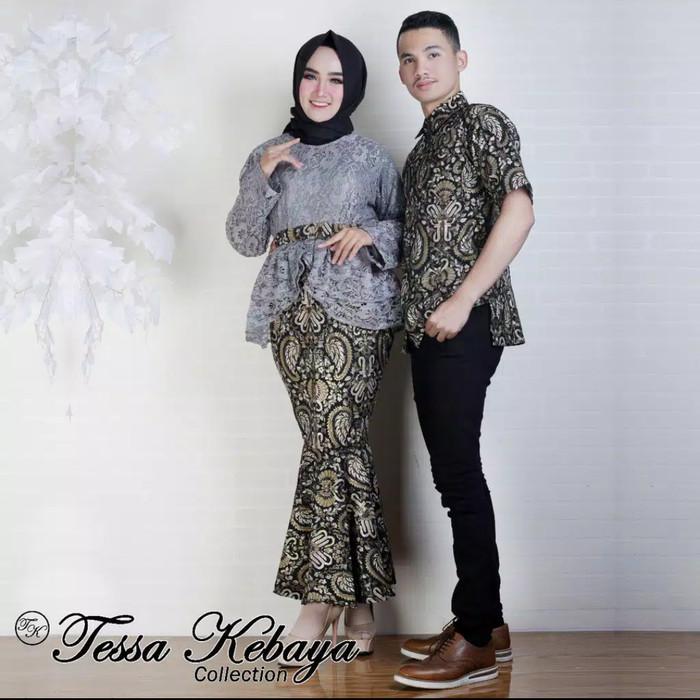 Jual Kebaya Couple Brokat Modern Kebaya Wisuda Best Seller Acara Dki Jakarta Nailykebaya Tokopedia