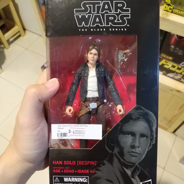 HAN SOLO BESPIN Star Wars The Black Series 6 Inch Figure NIB