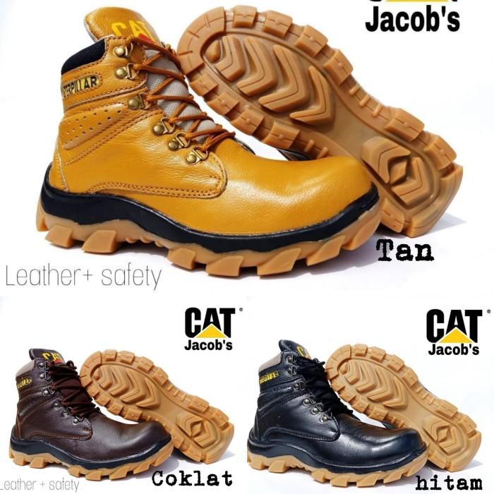 Jual Sepatu Caterpillar Boots Safety Pria Boot Kulit Asli Murah Steel Toe -  Kota Bandung - raivastore   Tokopedia