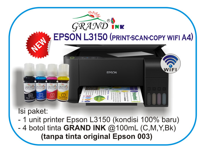 Epson L3150 Ink
