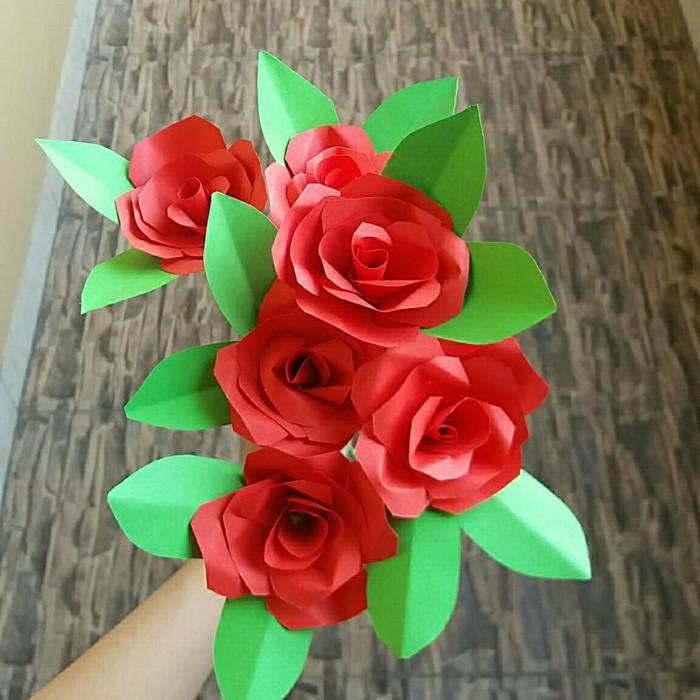 Jual Prakarya Kerajinan Tangan Bunga Kertas Kab Bekasi Lovenly Craft Tokopedia
