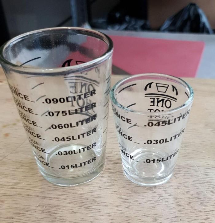 Foto Produk Zuma Espresso Shot Glass Gelas Ukur One Shot Gelas Kopi Coffee - 3oz dari ViralShop87