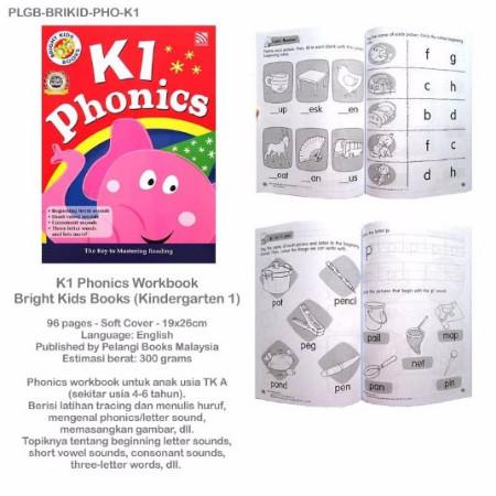 Jual K1 Phonics Workbook Bright Kids Books (Kindergarten 1) - DKI Jakarta -  Felisitas fanny wijaya | Tokopedia