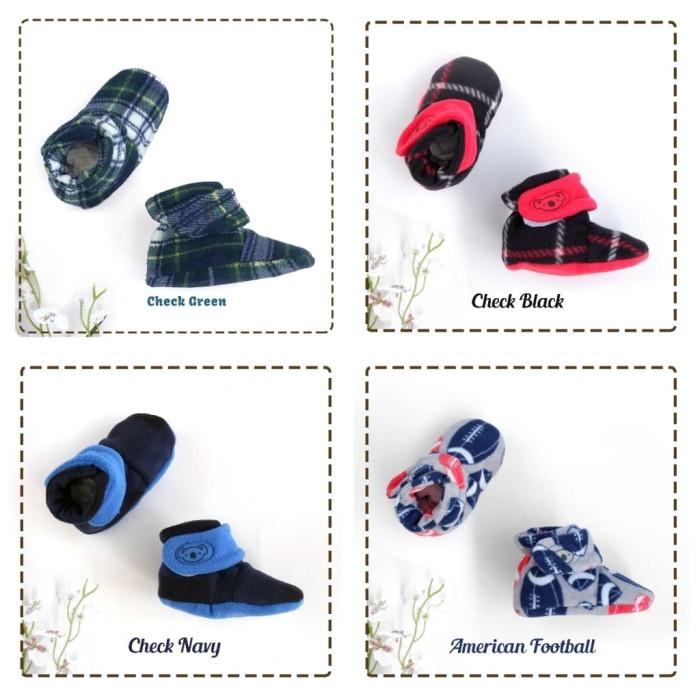 fa44ece98 Fitted Booties Cuddle Me Baby Sepatu/Kaos Kaki Bayi CuddleMe -  AmericanFootbal