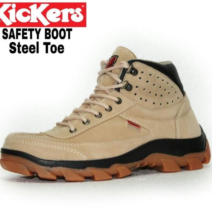 7c7f6d41641 Jual Best Seller Sepatu Safety Boot Kickers Kulit Asli Kerja Proyek Abu Abu  Tua 41 - Kab Bandung - Asya Shop Bandung   Tokopedia
