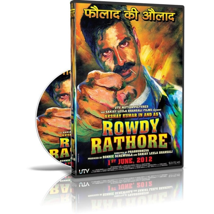 Jual DVD bollywood rowdy rathore film india kualitas HD - Kota Medan -  Orcidshop | Tokopedia