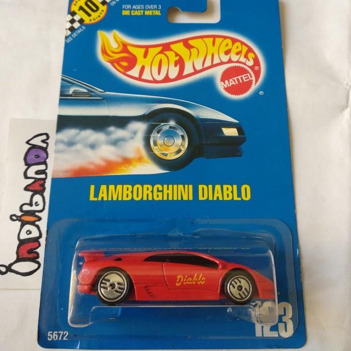 Jual Hw Hot Wheels Lamborghini Diablo Tampo Indibanda Store