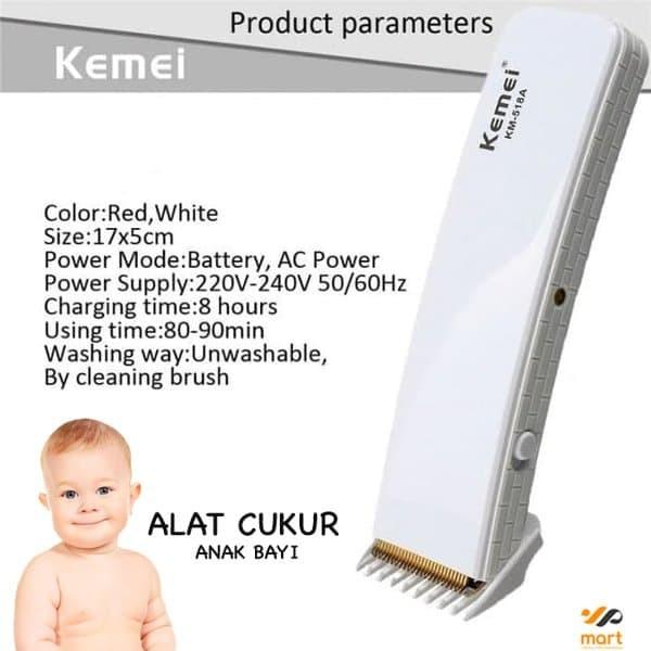 Jual Alat Cukur Rambut Bayi Kemei Alat Cukur Rambut original KM-3530 ... 4ab8a01816