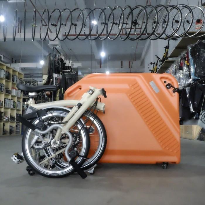 Jual Koper Sepeda Brompton Fyrlyt F20 Folding Bike Case