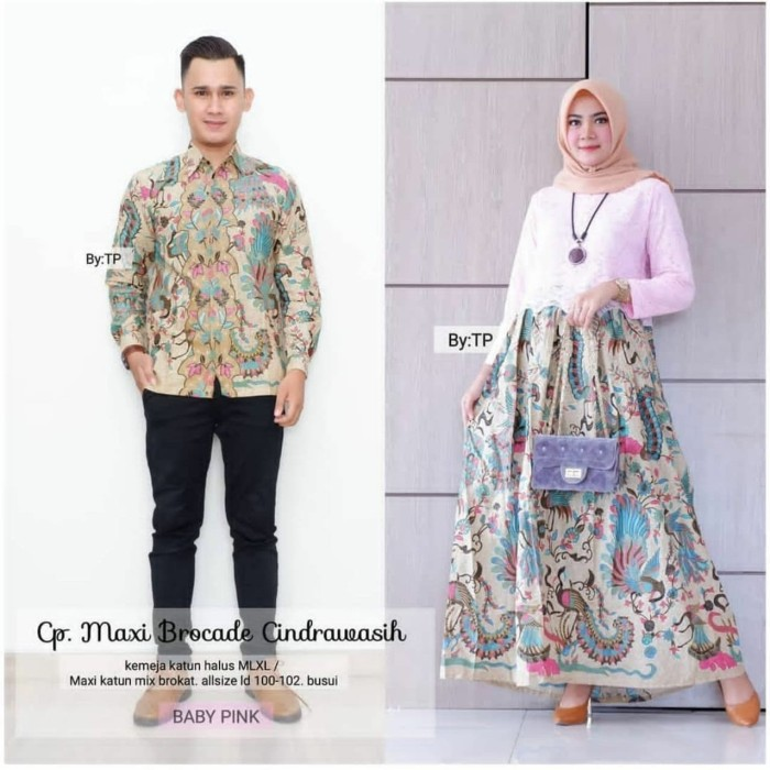 Jual Sarimbit Batik Baju Batik Couple Keluarga Modern Seragam Batik Murah Kota Pekalongan Batik Putra Brawijaya Tokopedia