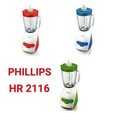 PHILIPS blender kaca - Beling HR2116 - HR 2116 ORIGINAL GARANSI RESMI