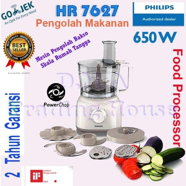 Food Processor Philips HR 7627 atau 7620