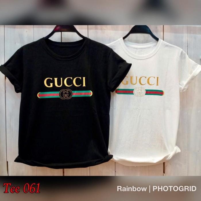 bba7ddb886f Jual T Shirt Kaos Cewek Baju Wanita Kaos Gucci Cewek Baju Gucci ...