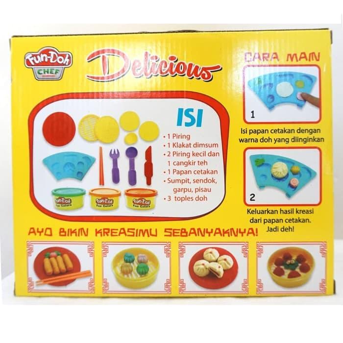 Sendok Garpu Sumpit Portable Lipat Travel / Wisata Warna Warni (FN20. Source · New Lilin mainan Fun Doh Delicious dimsum - mainan edukatif
