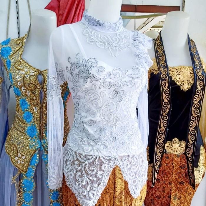 Jual Kebaya Akad Nikah Putih Muslimah Modern Kota Surabaya Varnelliya Surabaya Tokopedia