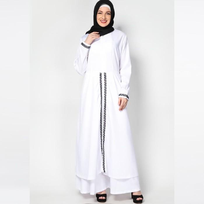 JV Hasanah Rasha Lace Dress - White