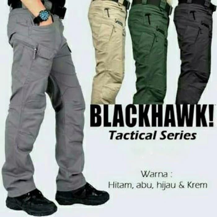 harga Celana blackhawk tactical outdoor hitam / celana pdl / celana cargo Tokopedia.com