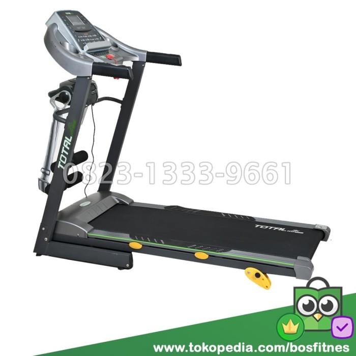 harga Treadmill elektrik motor 2 hp manual incline bfs 288 elektric treadmil Tokopedia.com