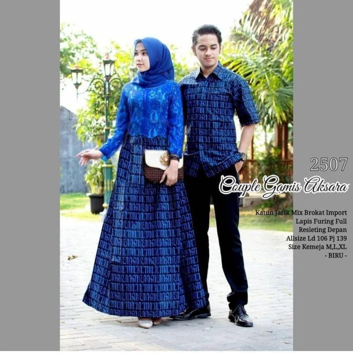 Gamis Brokat Terbaru Couple Nusagates