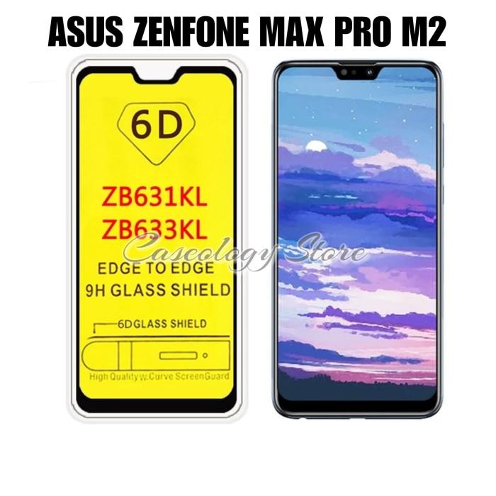 Foto Produk ASUS ZENFONE MAX PRO M2 TEMPERED GLASS WARNA 5D 6D ZENFONE MAX PRO M2 - Hitam dari Caseology Store