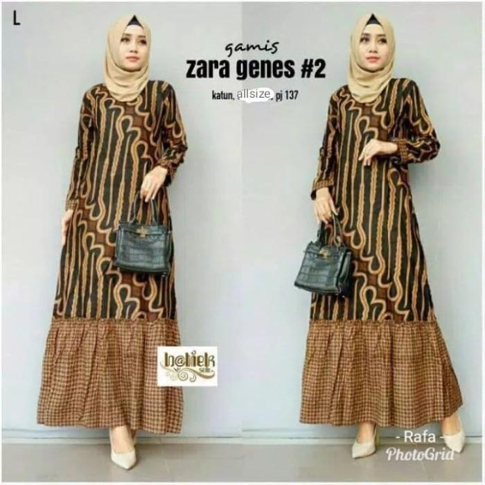 Jual Gamis Sogan Gamis Baju Muslim Wanita Dress Wanita Kota Pekalongan Efa Fashion Tokopedia