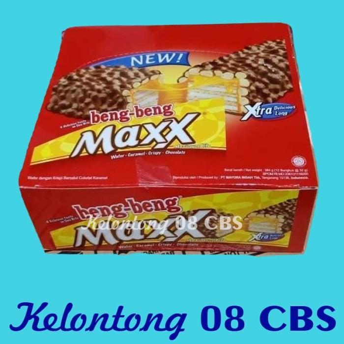harga Snack wafer coklat beng beng maxx per pak isi 12 bks @32gr - ecer Tokopedia.com