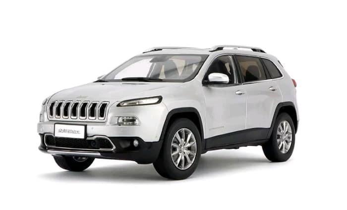 New Jeep Cherokee >> Jual Diecast 1 18 Scale All New Jeep Cherokee Silver Mobil Miniatur Kota Bengkulu Manishope Tokopedia