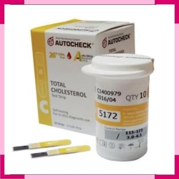 Jual [Free ongkir] STRIP AUTOCHECK CHOLESTEROL / CEK KOLESTEROL / AUTOCHECK  - Indo Medika | Tokopedia