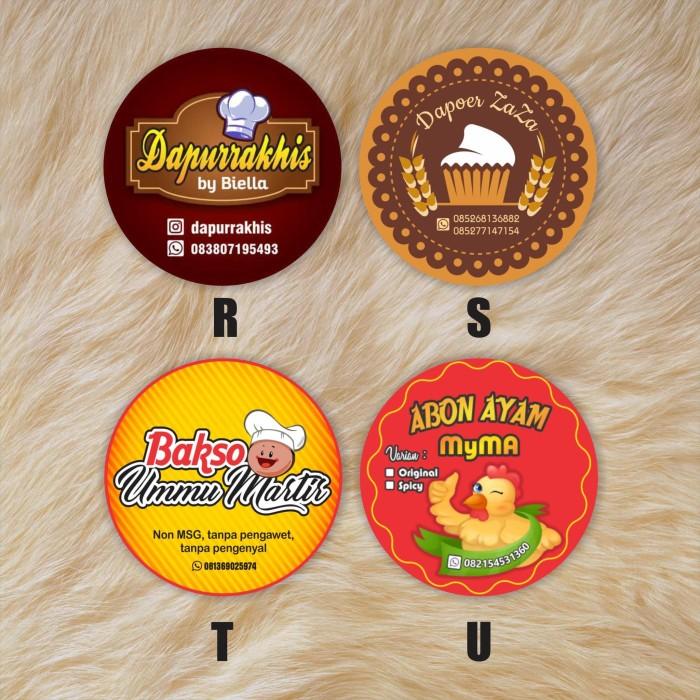 Jual Stiker Untuk Ditempel Di Kemasan Makanan/minuman