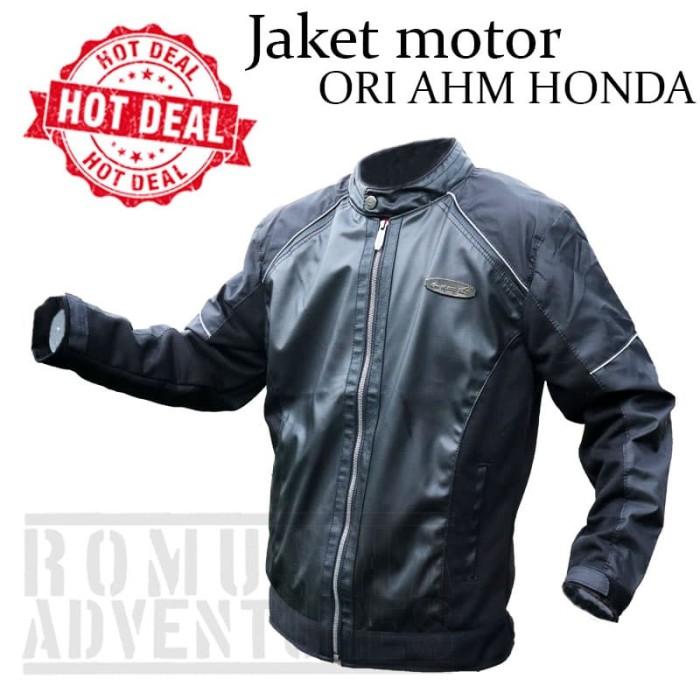 harga Jaket motor honda ori ahm motor jacket vario scoopy apparel touring Tokopedia.com