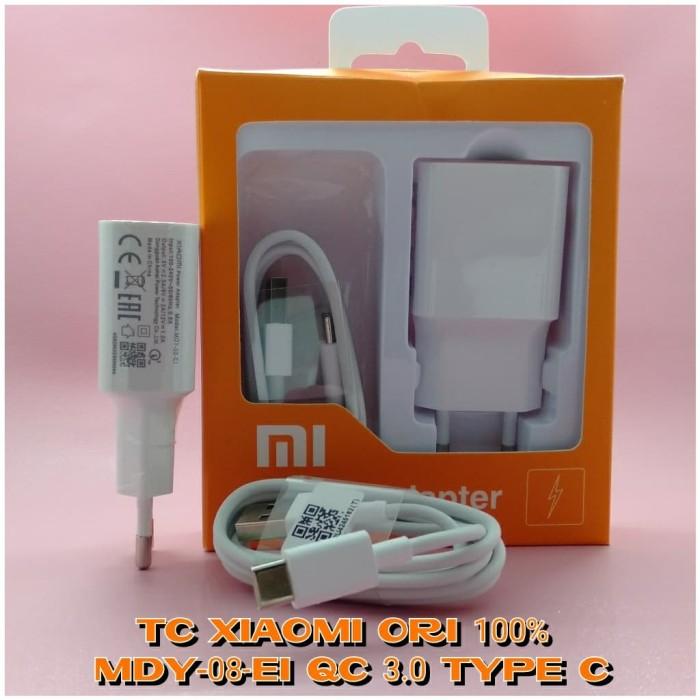 Foto Produk CHARGER XIAOMI FAST CHARGING TIPE C MI 5C 5X A1 ORIGINAL 100% USB C dari EVAN JAYA