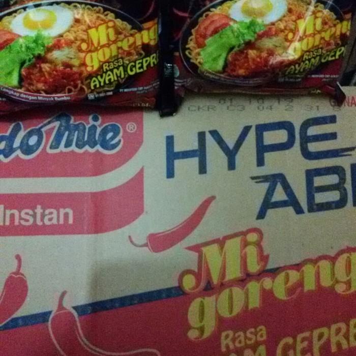 harga Indomie goreng ayam geprek 1dus isi 40 bks Tokopedia.com