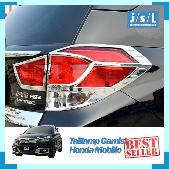 Jual Honda Mobilio Tail Lamp Garnsih Lampu Belakang Exclusive Chrome