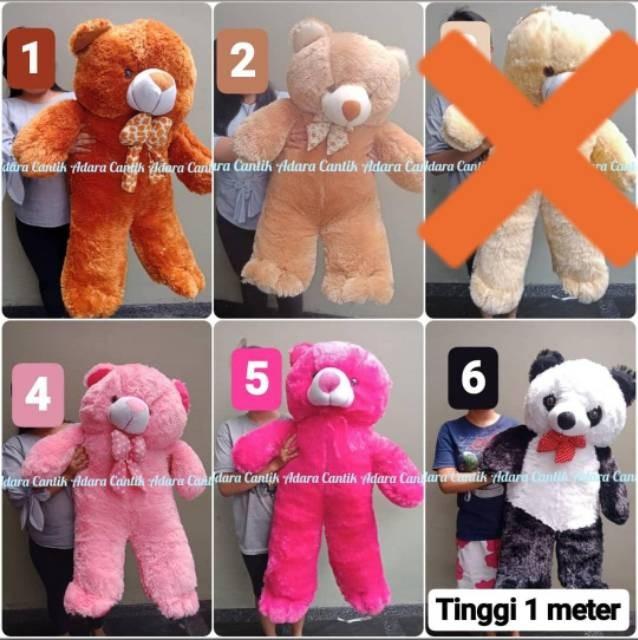 Jual AJ01 Aneka Boneka Jumbo 1 meter Teddy Bear Panda Beruang Lucu ... dad6498213