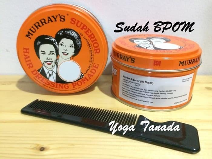 (Hair Wax & Pomade) Pomade Murray Murrays Superior (FREE SISIR SAKU)
