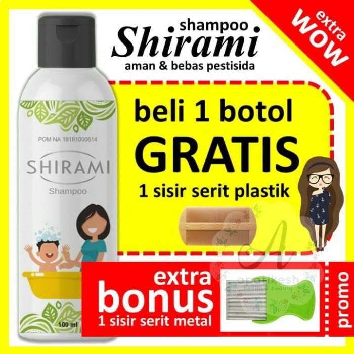 Jual Shirami Shampoo Pembasmi Kutu Rambut Anak Dan Dewasa Bonus Serit Metal Kab Bogor Shirami Shampoo Kutu Tokopedia