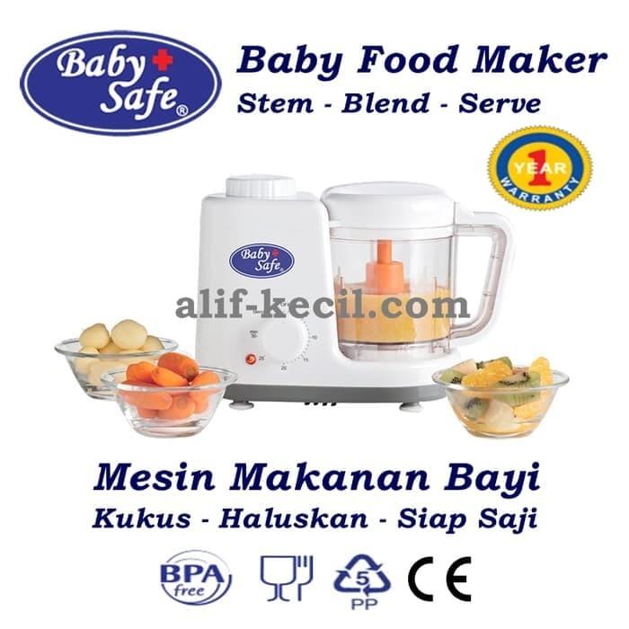 BABY SAFE - FOOD MAKER (KUKUS + STEAM + BLENDER)
