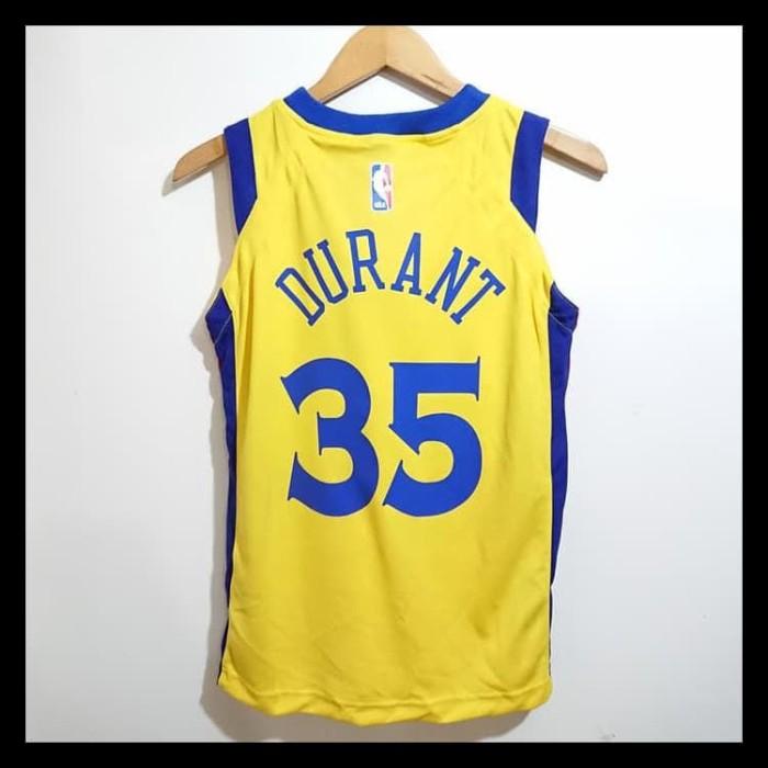 54e5350705d7 Jual Murah NEW STELAN BAJU JERSEY BASKET NBA ANAK CUSTOM NAME GOLDEN ...