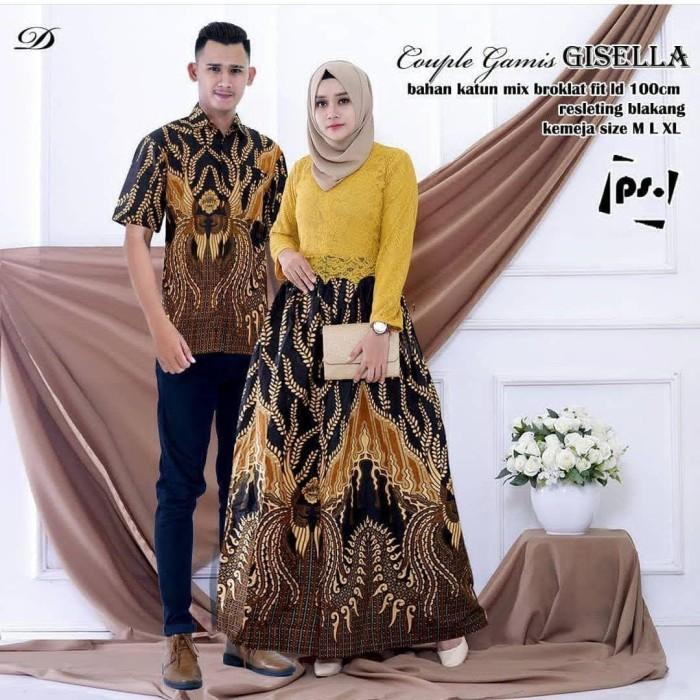 Jual Setelan Batik Couple Brokat Kondangan Batik Pasangan Remaja Dmr11 Pekalongan Selatan Batik Mekar Jaya Tokopedia