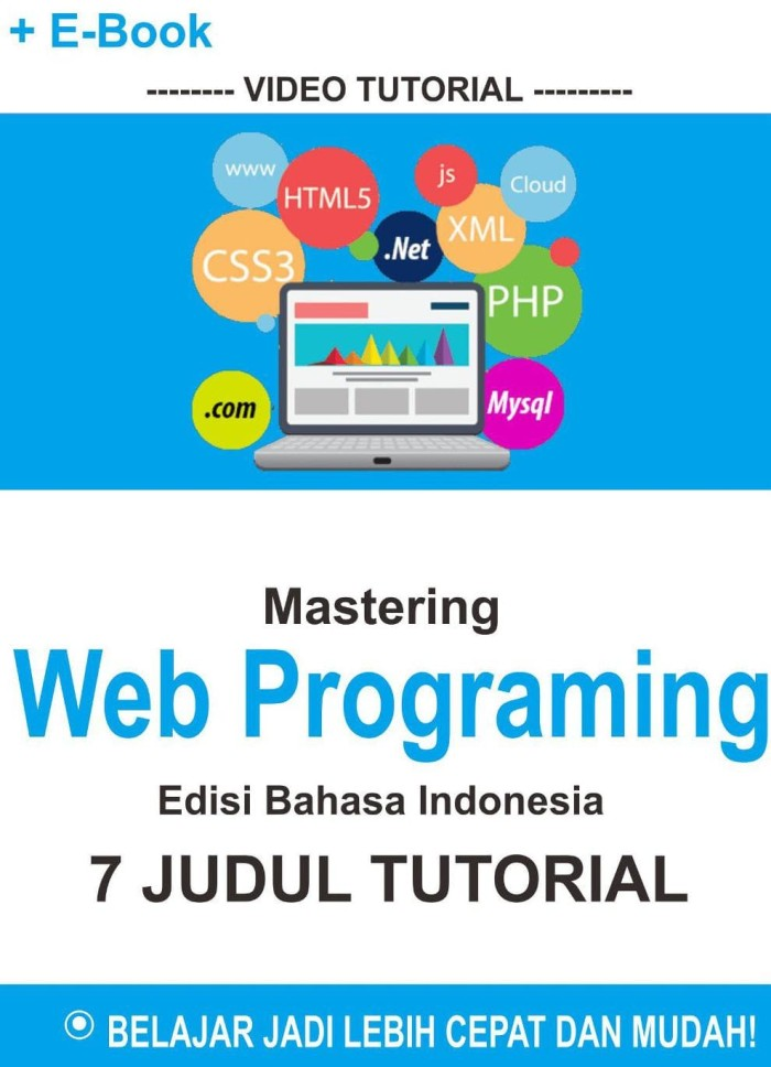 Video Tutorial Mastering Web Desain Programing Seri 2