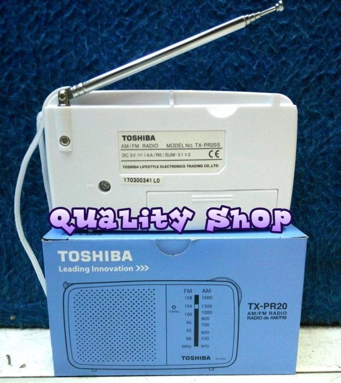 RADIO TOSHIBA TX-PR20 FM/AM