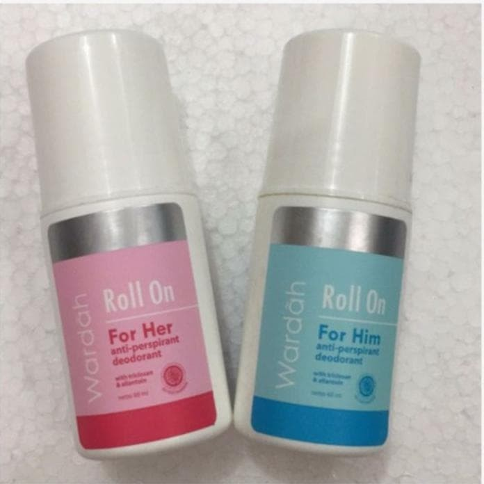 Deodoran Wardah Body Series Roll On For Her Him 60Ml