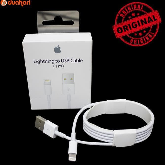 Kabel Data Iphone 7 7 Plus Original Lighting Putih - Harga Terbaru ... 9fcf54b700