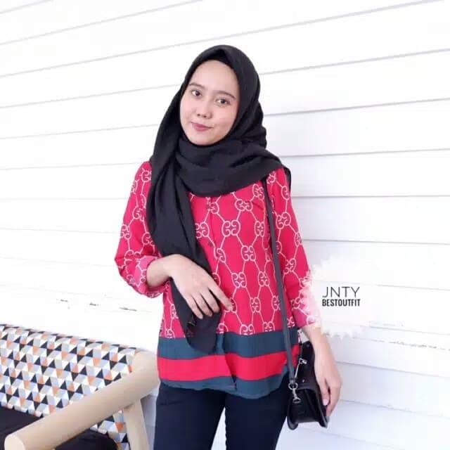 Harga Terbaru Gucci Blouse Baju Pakaian Wanita Di Surakarta - Billdemby 9cc205a64a