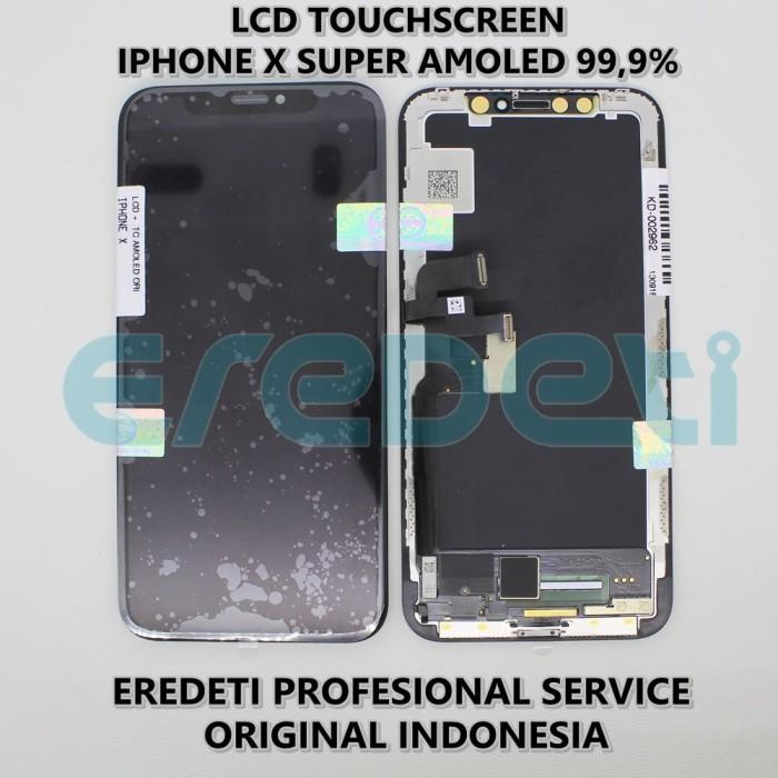 timeless design 36969 05233 Jual LCD TOUCHSCREEN IPHONE X SUPER AMOLED 99.9 PERSEN ORIGINAL KD-002962 -  Jakarta Barat - Eredeti Mitra   Tokopedia