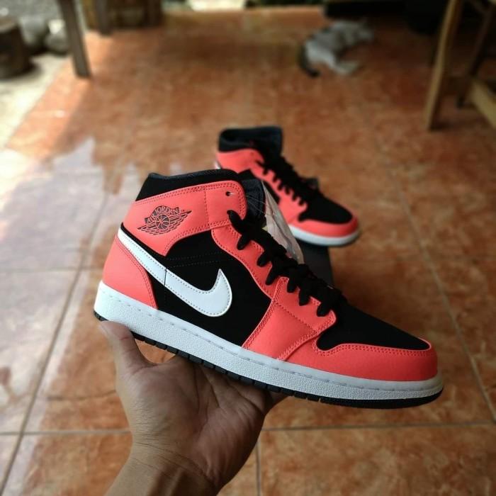 Jual Air Jordan 1 Mid Infrared Original