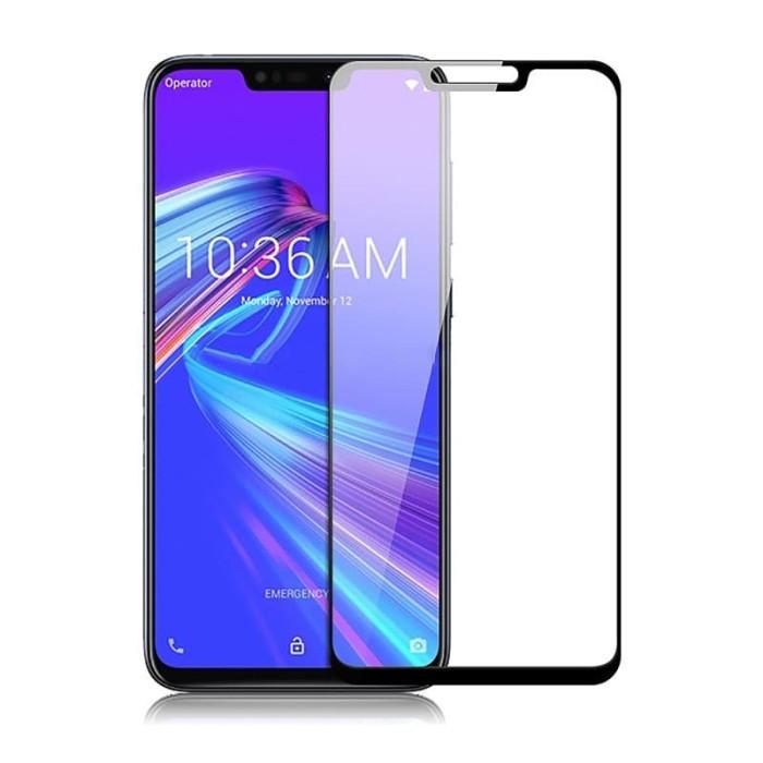 Foto Produk Tempered Glass FULL COVER Asus Zenfone Max M2 ZB633KL dari Cellular Mas