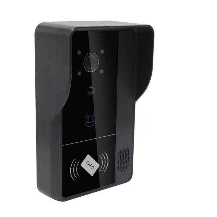 harga Wi-fi video door intercom and door bell - 0.3 inch cmos app support mo Tokopedia.com